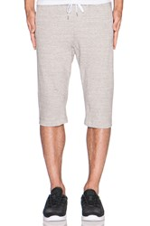 Stampd Dropped French Terry Short Gray