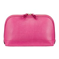 Aspinal Of London Hepburn Large Cosmetic Case Raspberry
