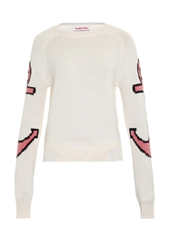 See By Chloe Anchor Cotton Blend Sweater