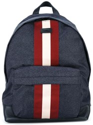 Bally 'Hingis' Backpack Blue
