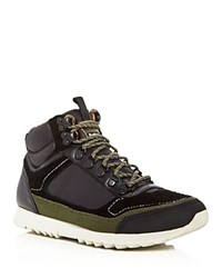 Barbour Highlands Mid Top Sneakers Black