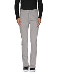 Care Label Trousers Casual Trousers Men Grey