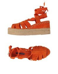 Ralph Lauren Collection Espadrilles Orange