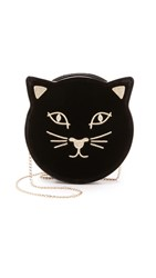 Charlotte Olympia Pussycat Purse Black