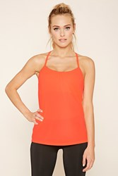 Forever 21 Active Cutout Back Tank