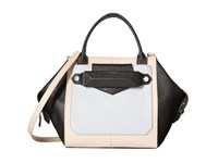 Botkier Reade Satchel Black Colorblock Satchel Handbags