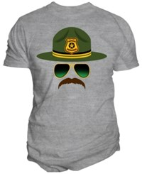 Changes Men's Hats And Shades Graphic Print T Shirt Oxford
