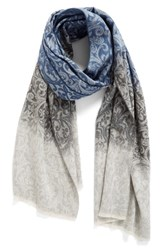 Nordstrom Women's Ombre Scroll Scarf