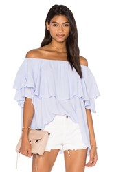 Mlm Label Maison Shoulder Top Lavender