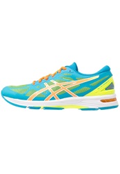 Asics Gelds Trainer 20 Lightweight Running Shoes Flash Yellow Hot Orange Turquoise Neon Yellow