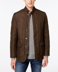 Barbour Men's Lutz Quilted Jacket A Macy's Exclusive Style Olive