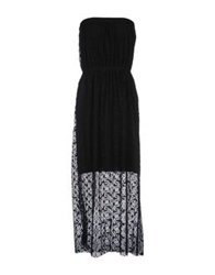 Alpha Massimo Rebecchi 3 4 Length Dresses Black