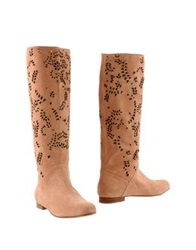Peter Flowers Boots Salmon Pink
