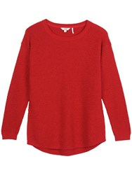 Fat Face Harpenden Textured Jumper Flame