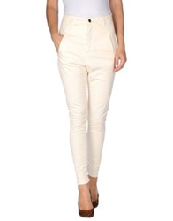 Superfine Casual Pants Ivory