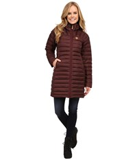 Fjall Raven Snow Flake Parka Burnt Red Women's Coat