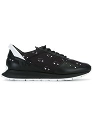 Kenzo 'Cloud Mix Eyes' Sneakers Black