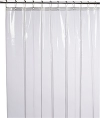Cb2 Peva Clear Shower Curtain Liner