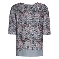 Reiss Chase Printed Top Multi