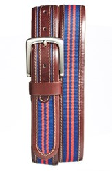 Men's Jack Mason Brand 'Tailgate Ole Miss Rebels' Belt