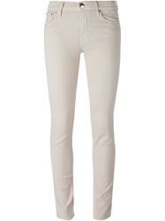 Jacob Cohen Skinny Jeans Nude And Neutrals