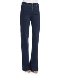 J Brand Jeans High Rise Tailored Flare Leg Jeans Allegiance