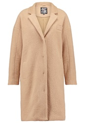 Just Female Jackson Classic Coat Nude Beige