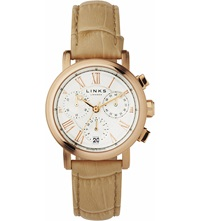 Links Of London Richmond Rose Gold Plated Watch
