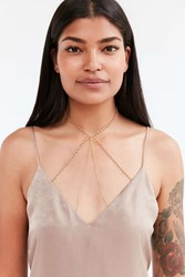Urban Outfitters Sierra Body Chain Gold