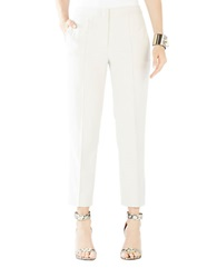 Bcbgmaxazria Gerry Cropped Trousers Canvas