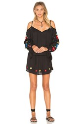 Vava By Joy Han Kamari Open Shoulder Dress Black