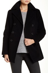 Kenneth Cole Wool Blend Peacoat Black