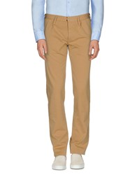Incotex Red Trousers Casual Trousers Men Camel