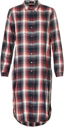 Soaked In Luxury Check Shirt Dress Multi Coloured Multi Coloured