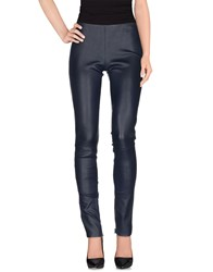 Lapis Trousers Casual Trousers Women Blue