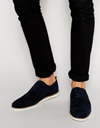 Suede Brogues Navy