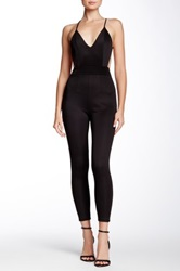 Lix Techno Fitted Jumpsuit Black
