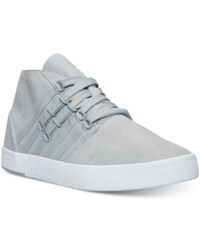 K Swiss Men's D R Cinch Chukka Casual Sneakers From Finish Line Highrise White