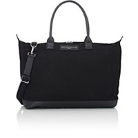 Want Les Essentiels Women's Lindbergh Weekender Black Blue Black Blue