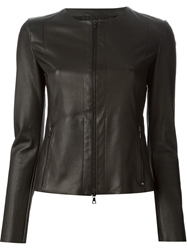 Drome Leather Jacket Black
