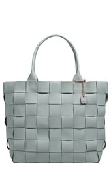 Skagen 'Anja' Woven Leather Tote