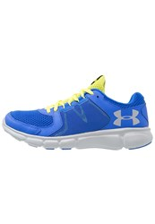 Under Armour Thrill 2 Cushioned Running Shoes Ultra Blue Flash Light Overcast Gray