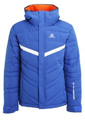 Salomon Stormpulse Ski Jacket Blue Yonder White