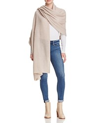Bloomingdale's C By Cashmere Travel Wrap Wicker