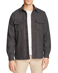 Uniform Cpo Regular Fit Button Down Shirt Charcoal