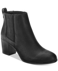 Inc International Concepts Women's Fainn Block Heel Booties Only At Macy's Women's Shoes Black