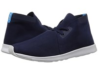 Native Apollo Chukka Regatta Blue Shell White Shell White Rubber Shoes
