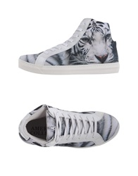 American College High Tops And Trainers White