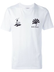 Soulland 'Kidder' T Shirt White