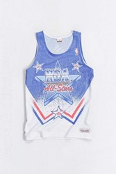 Mitchell And Ness 1991 All Star Tank Top White